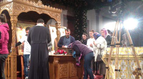 Cinstitul Brau, la catedrala din Voluntari